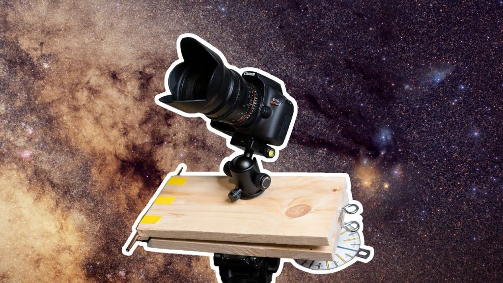 Build Yourself a Rudimentary, Hand-Cranked Star Tracker for $30