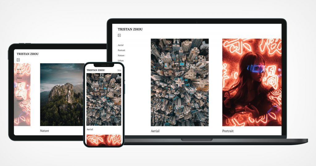 500px Relaunches Portfolios, Its Template-Based Website Builder