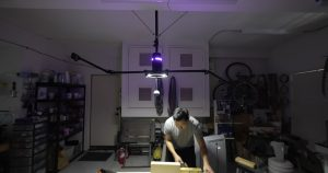 This is the World's First Ceiling-Mounted, Motion-Controlled Camera Dolly