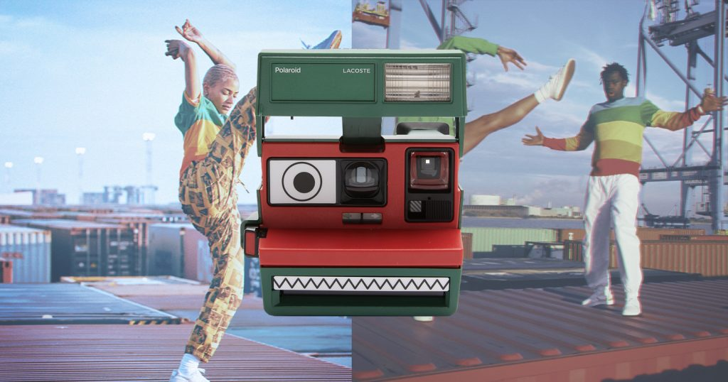 New Collab Sees Lacoste-Themed Camera and Polaroid-Themed Clothes