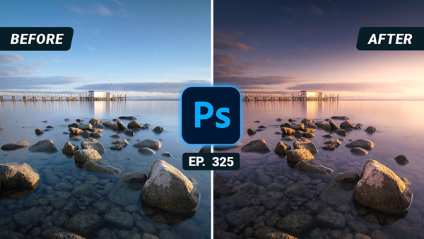 Turn Daylight Photos into Dramatic Sunset Scenes with This Simple Photoshop Technique (VIDEO)