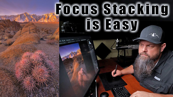 Focus Stacking for MIND-BLOWING Depth of Field is Super Easy with These Photoshop Tips (VIDEO)