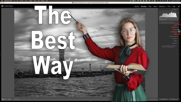 The BEST Way to Convert Color Images to B&W in Lightroom (VIDEO)