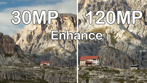 Watch This Pro Upsize a 30MP Image to 120MP with Just One Click VIDEO)