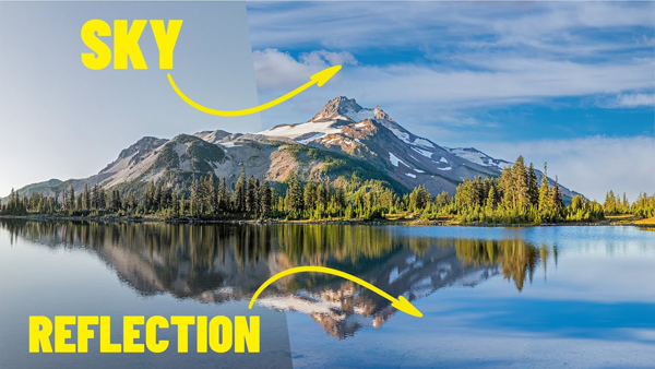 Give Landscape Photos the WOW Factor with a Simple Sky & Reflection Replacement Trick in Photoshop
