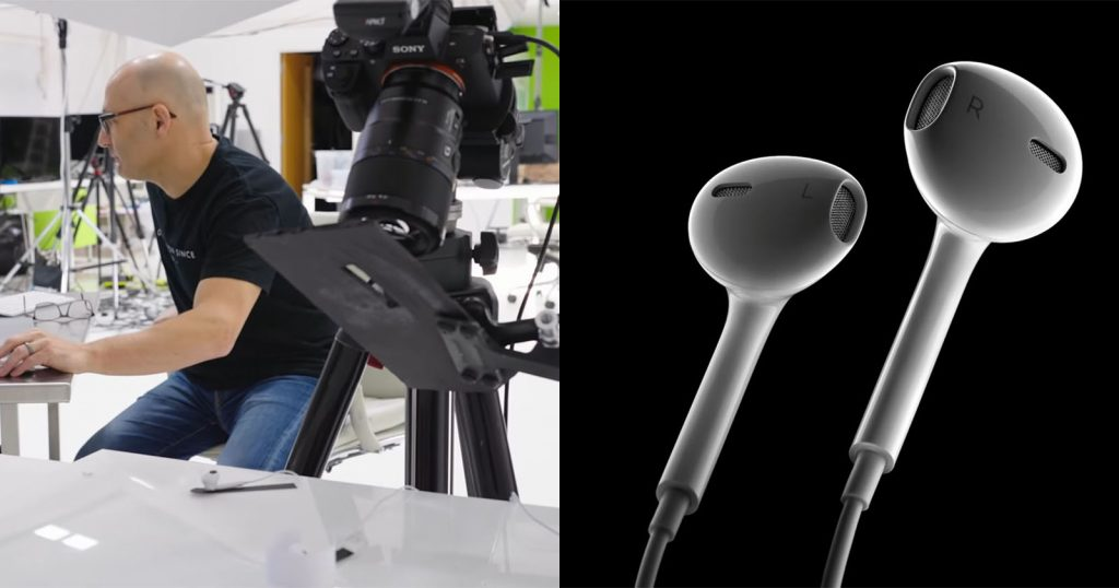 How to Shoot an Apple-style Product Photo with Flashes and DIY Modifiers