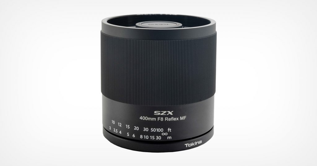 Tokina's 400mm f/8 Reflex Lens Now Available for Canon RF and Nikon Z