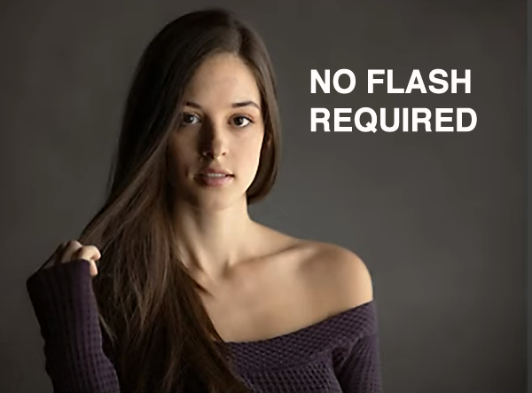 Lovely Portraits Without Flash Using These Simple Shooting & Editing Tips (VIDEO)