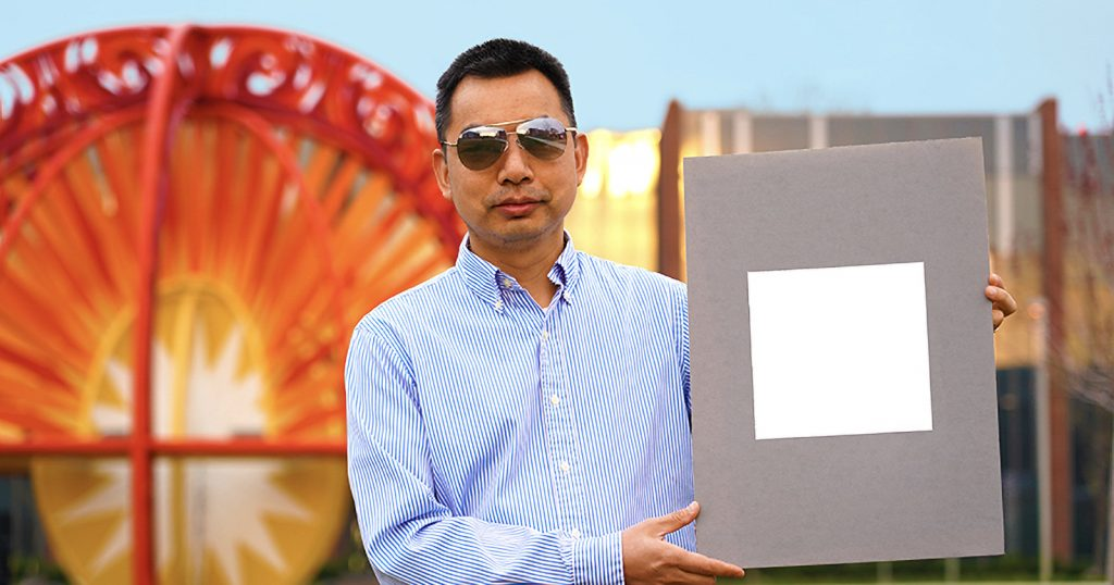 Scientist Unveil 'Whitest Paint Ever' That's Based on Baryta Photo Paper