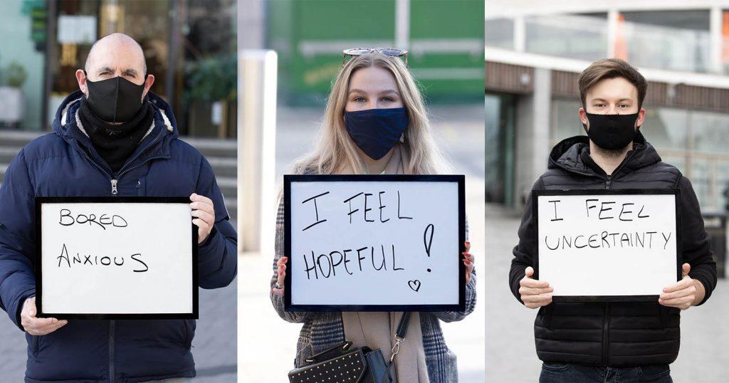 Photo Series Shows Pandemic Emotions, Starts Mental Health Talks