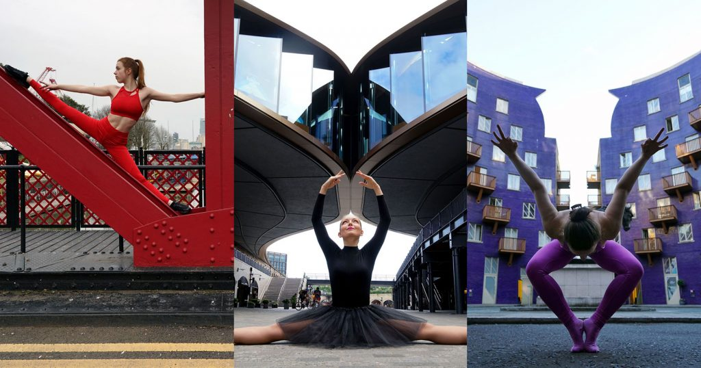 Photos of Dancers Blending Into London Architecture