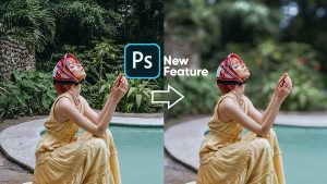 A New Photoshop Tool Blurs Backgrounds & Controls Focus Point with One Slider (VIDEO)
