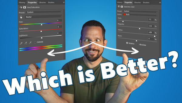 What is Photoshop's BEST Tool for Precise Color Adjustments? (VIDEO)