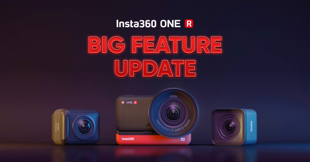 Insta360 Announces Major Feature Update for the ONE R Camera