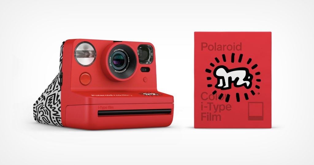 Polaroid Collaborates with Keith Haring to Celebrate His Legacy