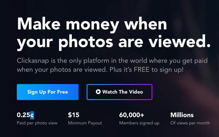 Clickasnap CEO Explains How Photographers Can Earn Money!