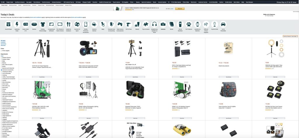 Amazon Prime Day is coming – best deals and discounts revealed – Amateur Photographer