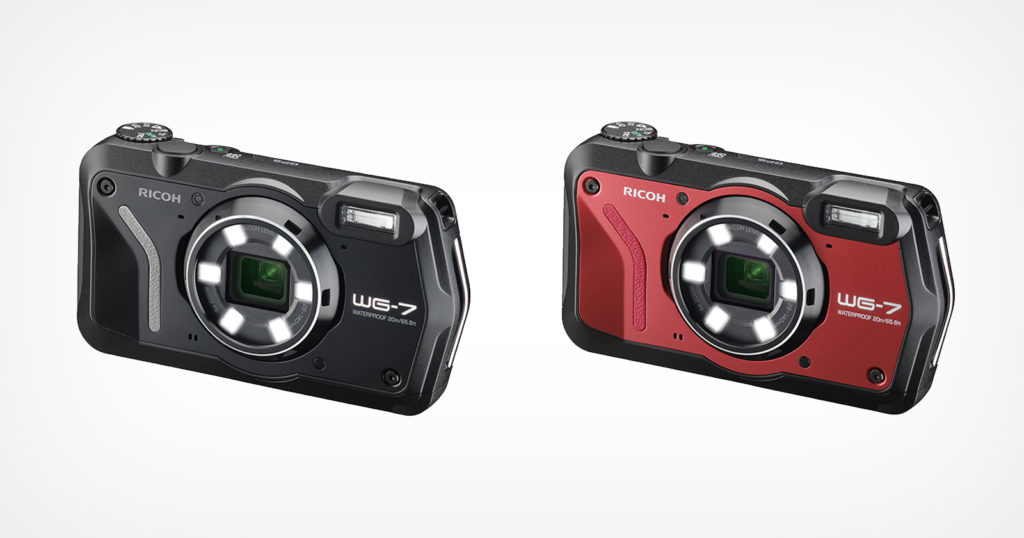 Ricoh Launches the WG-7, a Rugged, Waterproof, 20MP Camera