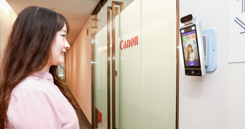 Canon Uses AI Cameras That Only Let Smiling Workers Inside Offices