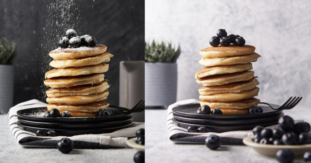 How to Best Photograph Food with a Straight-On Perspective