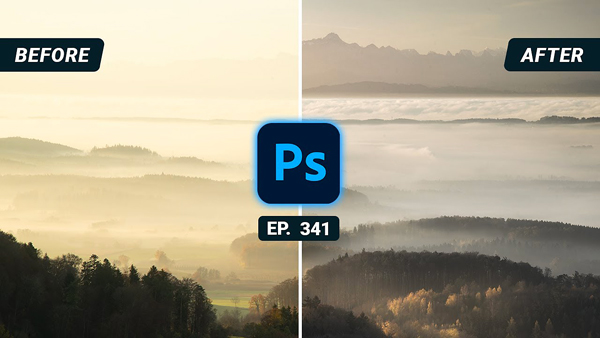 Remove Haze & Restore Details in Nature Photos with This Easy Photoshop Method (VIDEO)