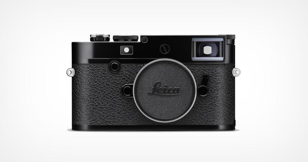 Leica Unveils the Limited Edition M10-R Black Paint
