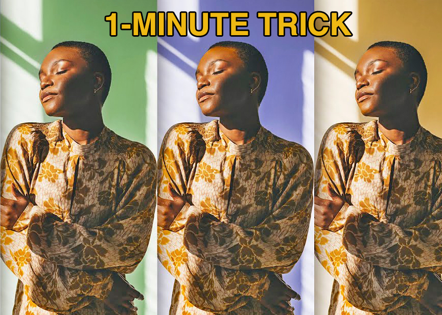 Photoshop Quick Tip: Change the Background Color of a Photo in Just 1 Minute (VIDEO)