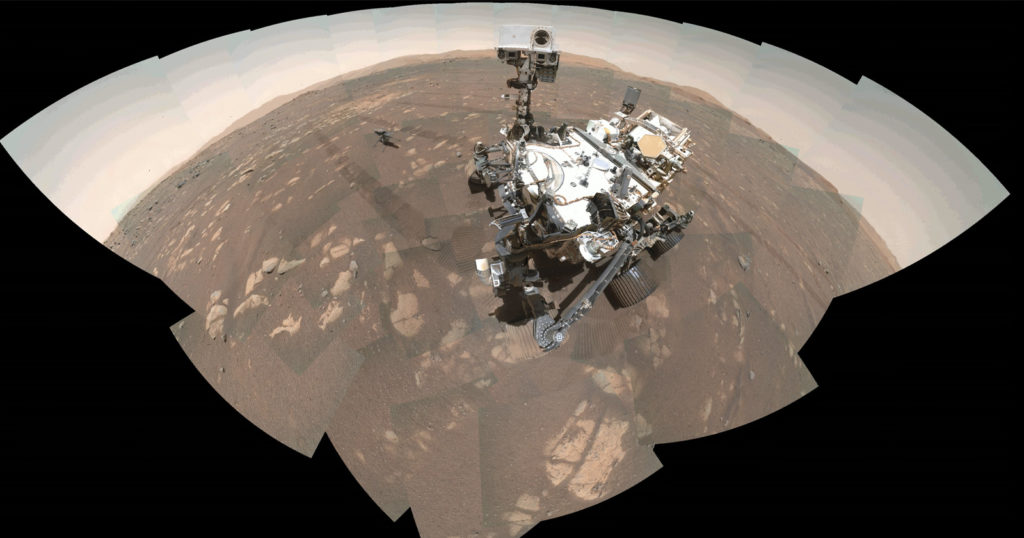 NASA Shows How the Mars Perseverance Rover Took its First Selfie
