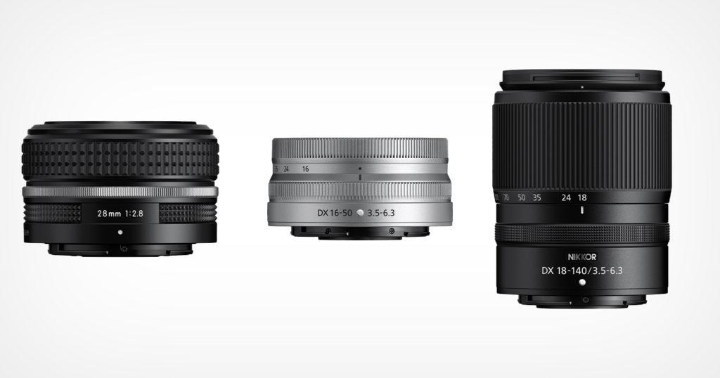 Nikon Announces Three New Lenses For its Z-Mount System
