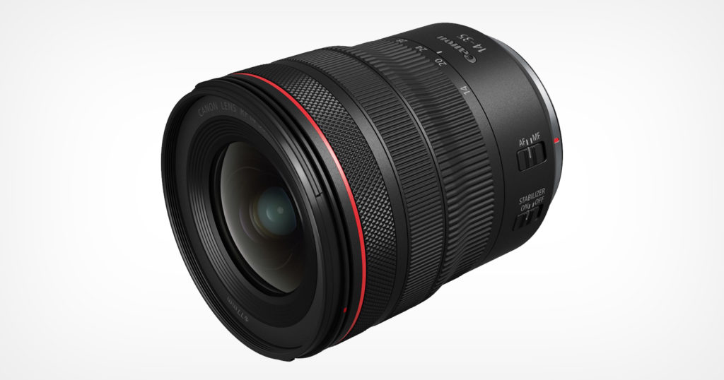 Canon Unveils the RF 14-35mm f/4L IS USM Lens