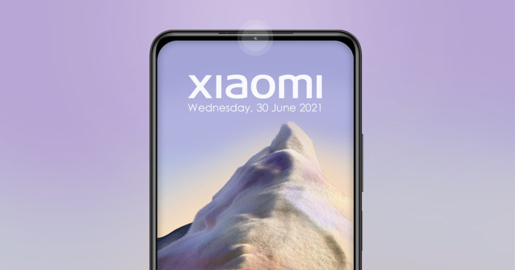 Xiaomi Avoids Under-Display Camera Issues, Hides One in Bezel Instead