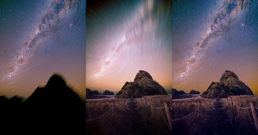 Photographing the Milky Way Over Lion Rock in Piha, New Zealand