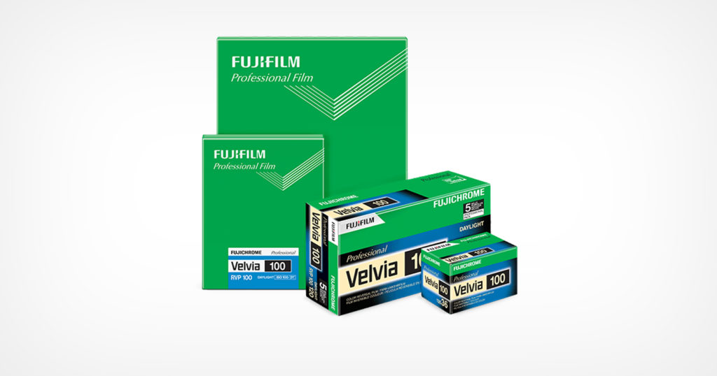 Fujifilm Forced to Discontinue Velvia 100 Film in the U.S. by the EPA