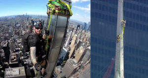 Steeplejack Shares Dizzying Footage from Top of Chrysler Building Spire