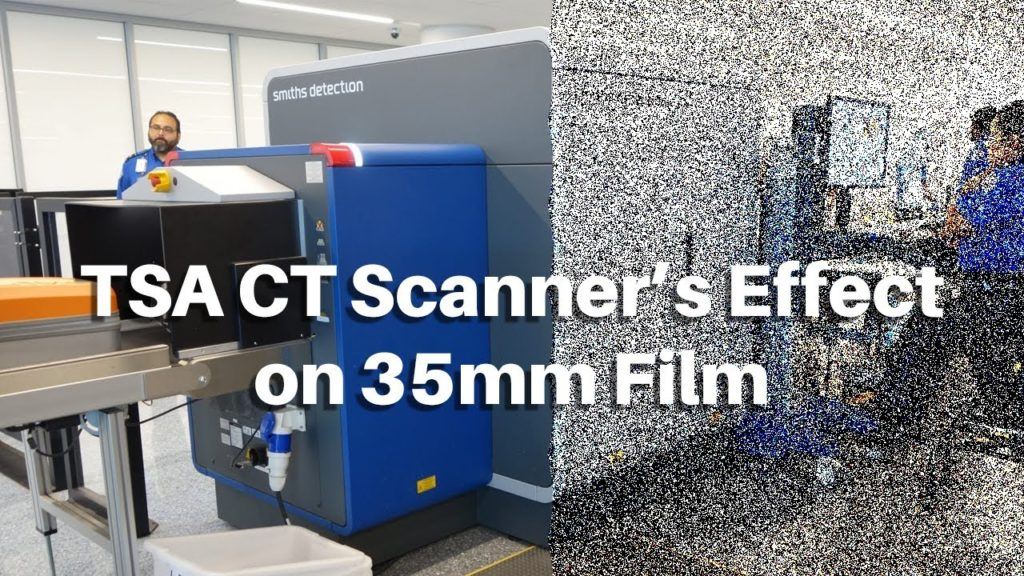 What Happens if Film Goes Through Airport CT Scanners?