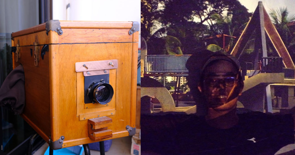 How I Converted My Afghan Box Camera Into a 4×5 Slide Projector
