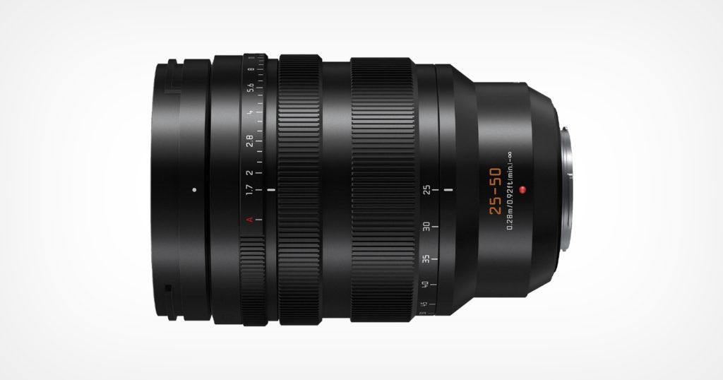 Panasonic Unveils the Leica DG Vario-Summilux 25-50mm f/1.7 for M43