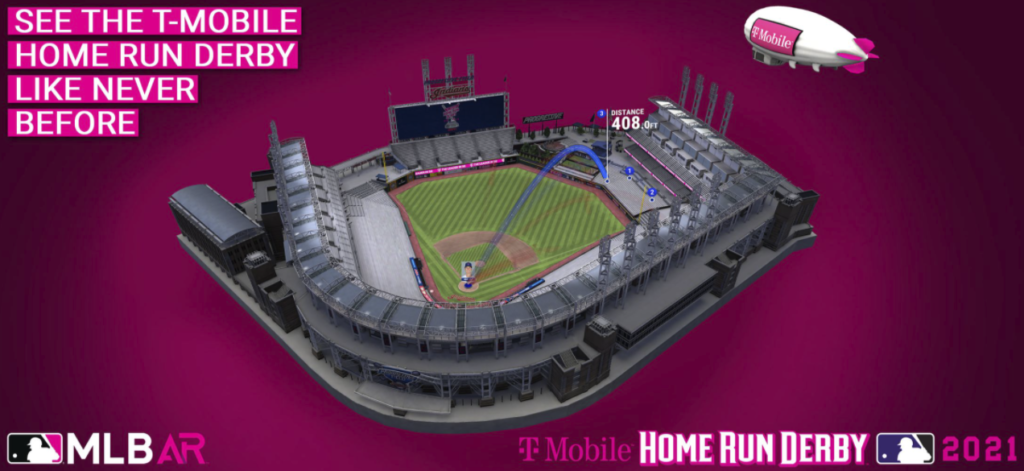 This year's Home Run Derby contests will wear connected cameras during the competition