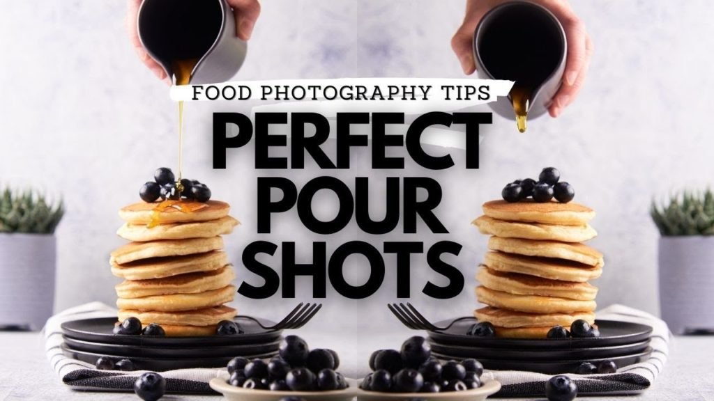 Pour Shots: How Best to Add Action into a Food Photo