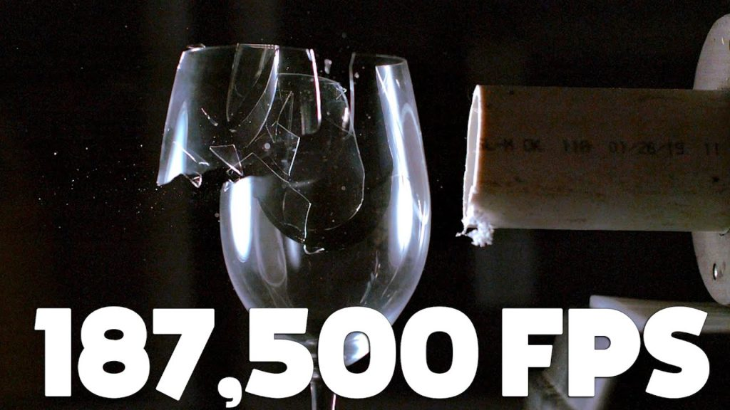 Watch Sound Waves Shatter a Wine Glass at 187,000 Frames Per Second