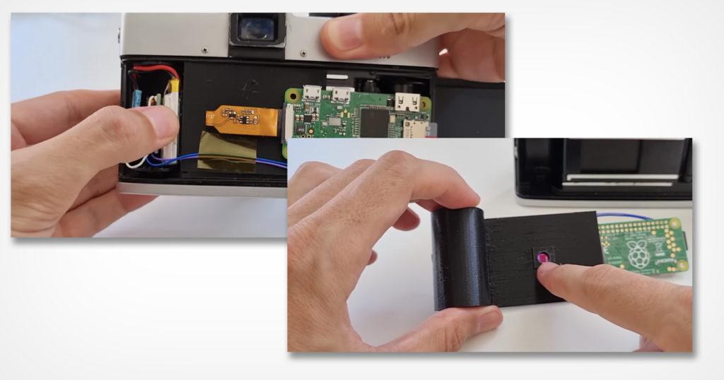 3D Printed Cartridge Turns Any 35mm Film Camera into a Digital Camera