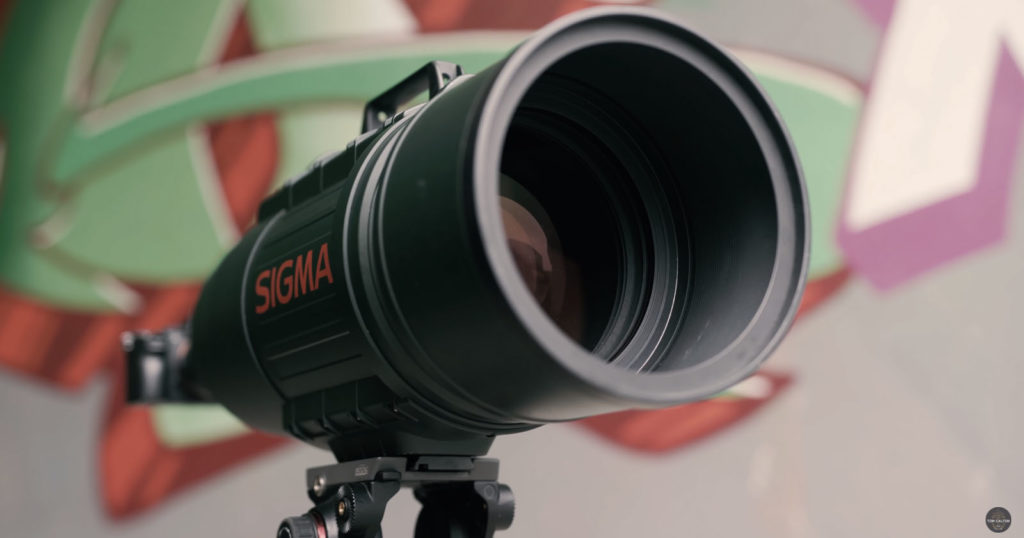 Using the Enormous Sigma 200-500mm f/2.8 on a Sony Alpha 7 III
