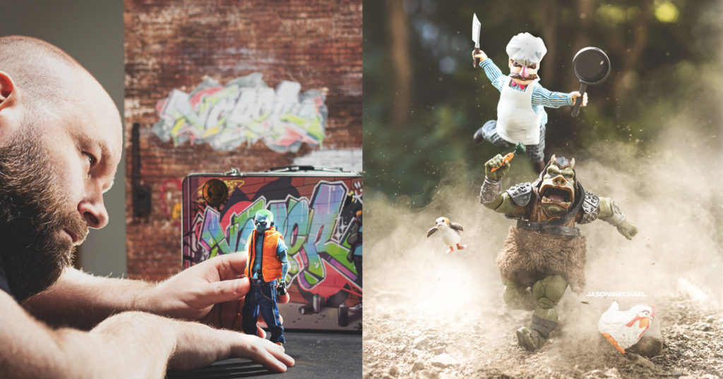 Photographer Combines Iconic Toys and Action with Outrageous Results