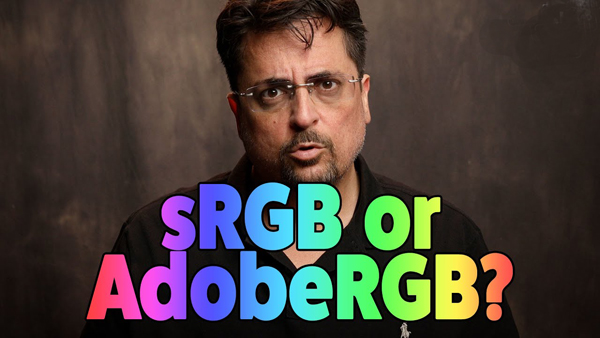 sRGB or AdobeRGB: What's the BEST Color Space to Use? (VIDEO)