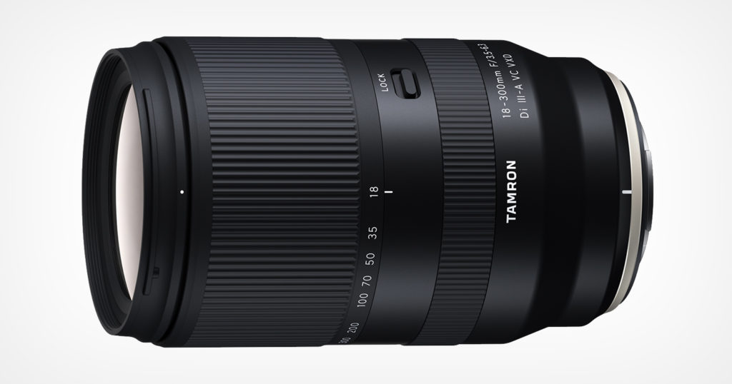 Tamron Developing its First Fujifilm X-Mount Lens: the 18-300mm f/3.5-6.3