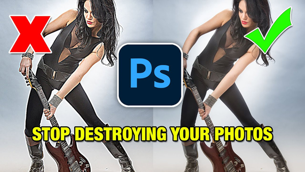 The BEST Way to Sharpen Photos in Photoshop Without RUINING Your Images (VIDEO)