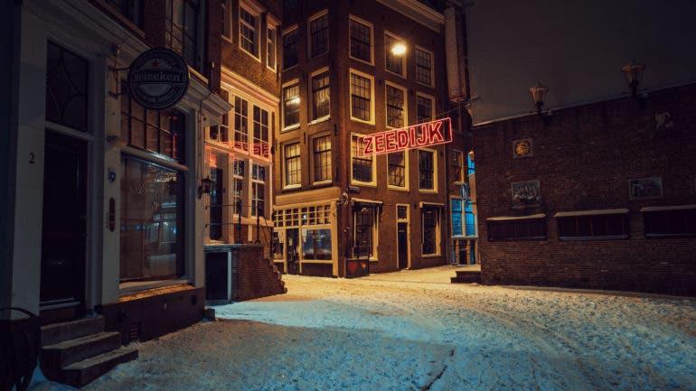 Stijn Hoekstra Explores the Empty Streets of Amsterdam Under Curfew