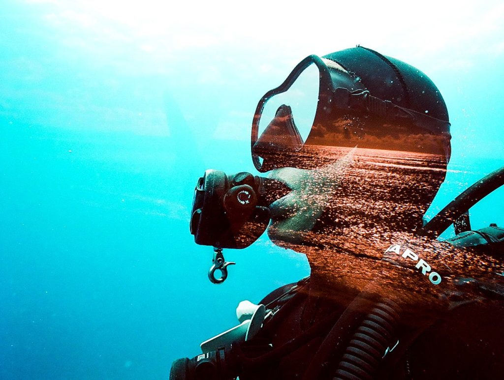 Barney Smith Travels Around the World for Underwater Double Exposures