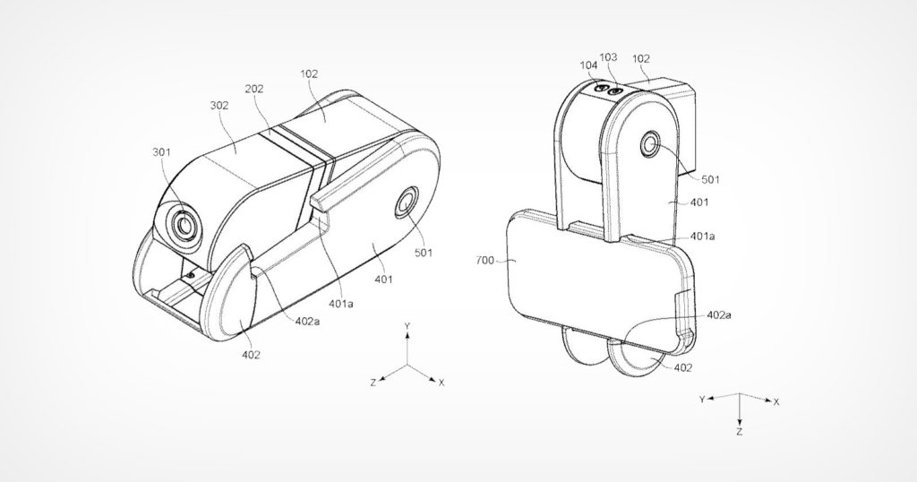 Canon Patents 'Clip-On' Smartphone Camera with Magnetic Lenses