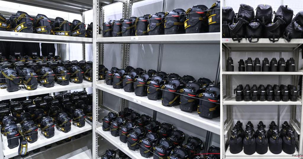 This is Nikon's Massive Camera Arsenal at the Tokyo Olympics